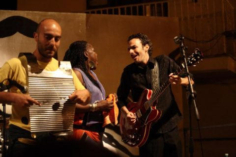 Aglientu Blues Festival 2013 - Peaches Staten e Luca Giordano band