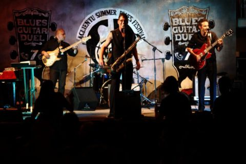 Aglientu Blues Festival 2014 - Sax Gordon