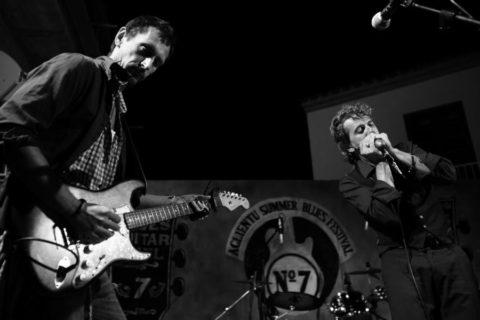 Aglientu Blues Festival 2014 - Sponza Roberto Luti Max Lazzarn Marco Pandolfi